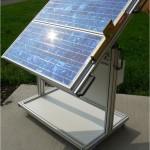 Générateur photovoltaïque mobile avec bat- terie de stockage : Référence SOL1